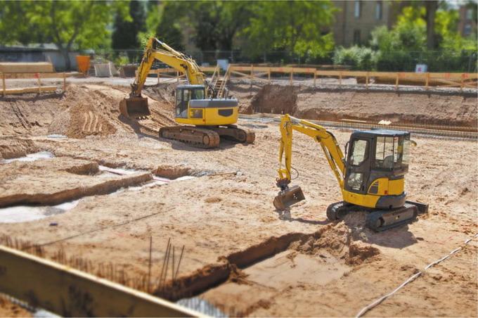 Заливка и укладка бетона